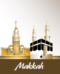 City of Makkah Saudi Arabia Famous Buildings
