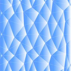triangle ice pattern