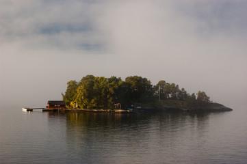 Sweden islands near the Stockholm
