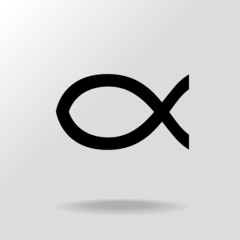 Jesus Christ fish symbol