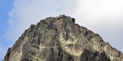 Lomnicky Peak Mountain High Tatras, Slovakia, Europe