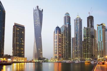 Обьединённые Арабские Эмираты. Набережная Дубая. - fototapety na wymiar
