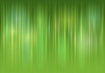 Green abstract background with glow