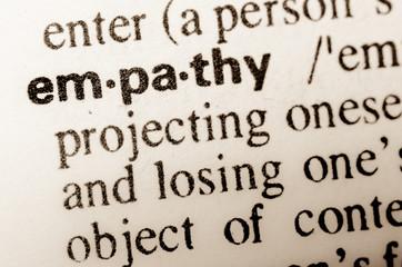 word empathy