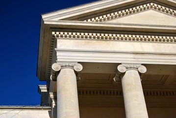 bâtiment officiel style néo classique