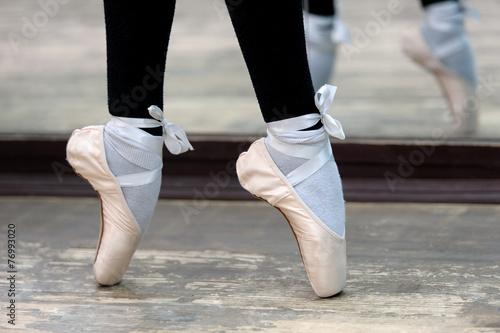 фото балерины крупный план