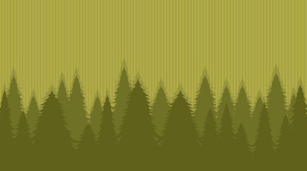 The wood on an original light green background.