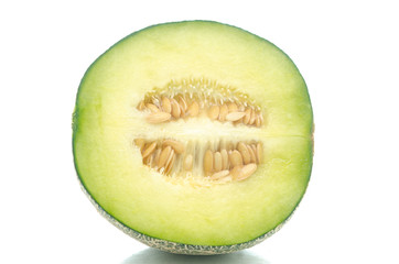 Close up of half melon