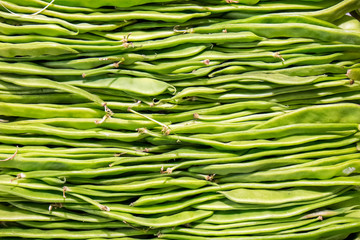 Background from green peas