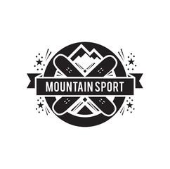 sport label design