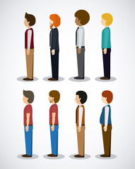 People design, vector illustration.