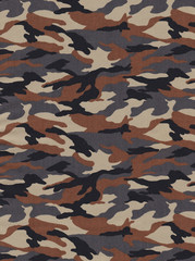 Texture of camouflage fabric