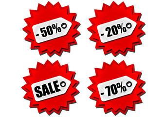 Sale - Reduziert - Buttons