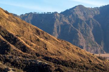 Hill Slopes at Bromo Tengger National Park