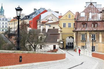 Obraz Centrum Lublina, Polska - fototapety do salonu