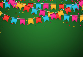 Party celebration background.