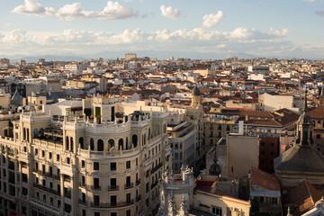 Distrito centro de Madrid