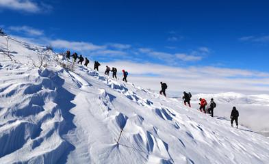 Foto op Aluminium Alpinisme dağcılık etkinliği&dağ sevgisi