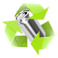 Recykling puszka 1 - fototapety na wymiar