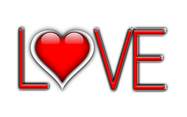 Typografie LOVE