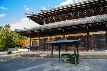 Dharma Hall (Hatto) at Nanzenji Temple in Kyoto
