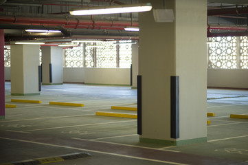 Parking in the building