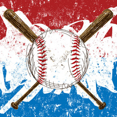 Baseball Flag background