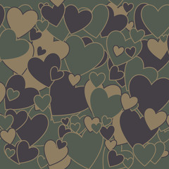 Military Camouflage Love