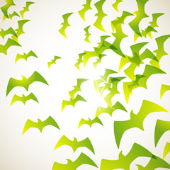 abstract background: bird