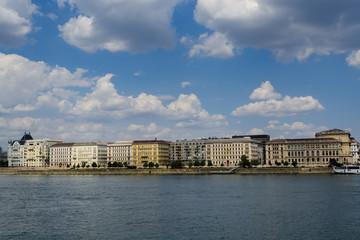 Danuber river crossing Budapest