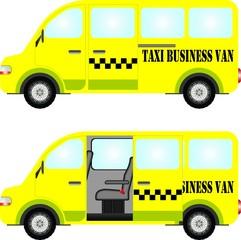 Taxi business van