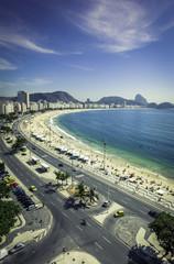 Copacabana Beach and Sugar Loaf Mountain,Rio de Janeiro