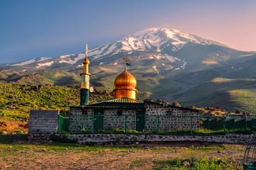 Mosque below Damavand