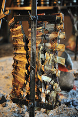 Asado, traditional barbecue dish in Argentina