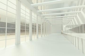 Empty loft space
