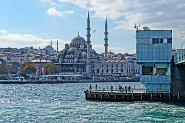 View of Istanbul from the Bosphorus Bridge