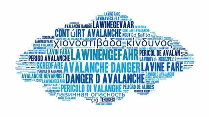 ad1 AvalancheDanger - Lawinengefahr - word cloud - 16to9 g3094