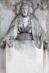Jesus Christ (statue on cemetery)
