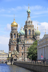 Church of the Savior on Blood - famous landmark in Saint Petersb