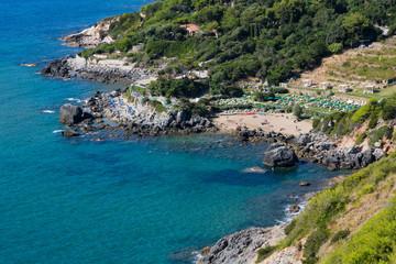 Coast of Monte Argentario - Mediterranean Sea, Italy