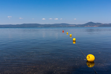 Bracciano Lake - Blue crystal clear waters