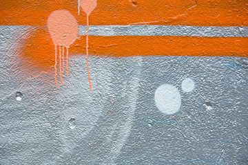 Abstract graffiti texture