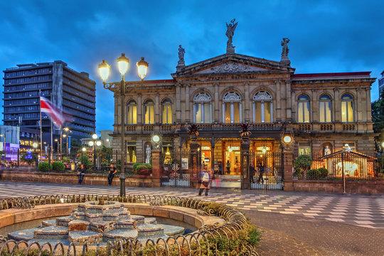 National Theatre of Costa Rica in San Jose