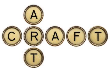 art and craft crossword