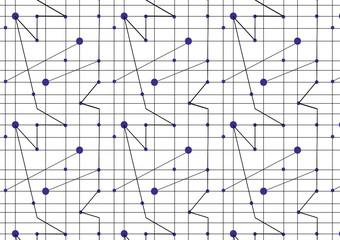 Verbindungen nahtloses Muster