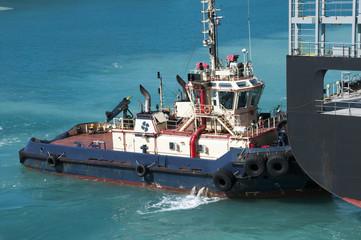 Tugboat assistance