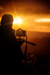 Taking Pictures at Sunset