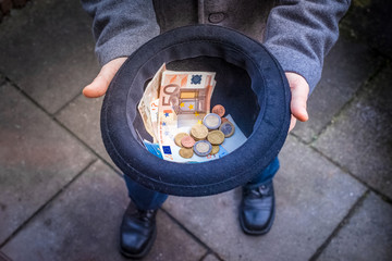 Geld sammeln