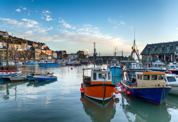 Wall Mural - Mevagissey Harbour
