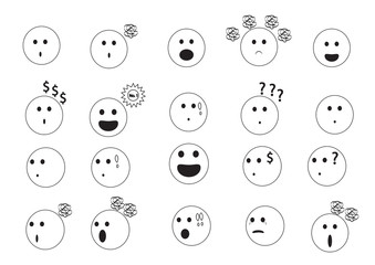 linear faces emoji